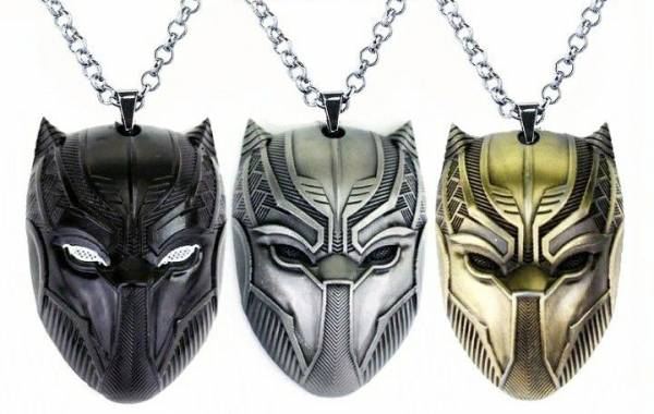 Black Panther Costumes Arrived 3 Color Wakanda Necklace