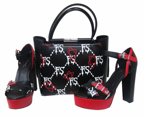 Women's  Bag With High Heel Shoe
